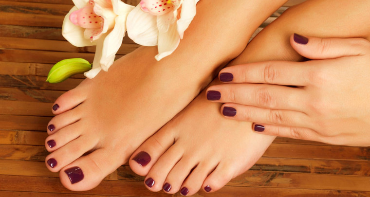 best pedicure in dubai