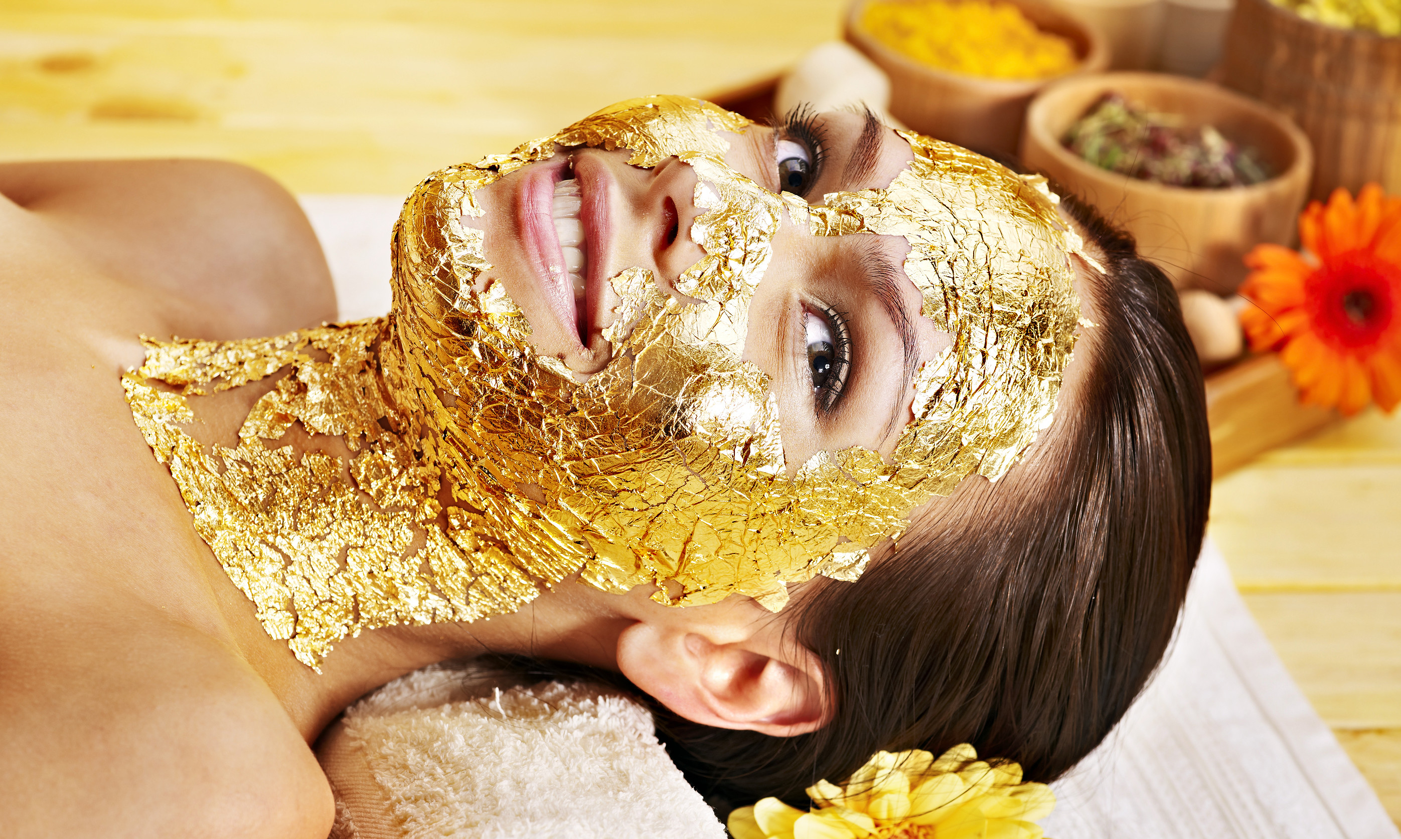 Image result for gold facial dubai