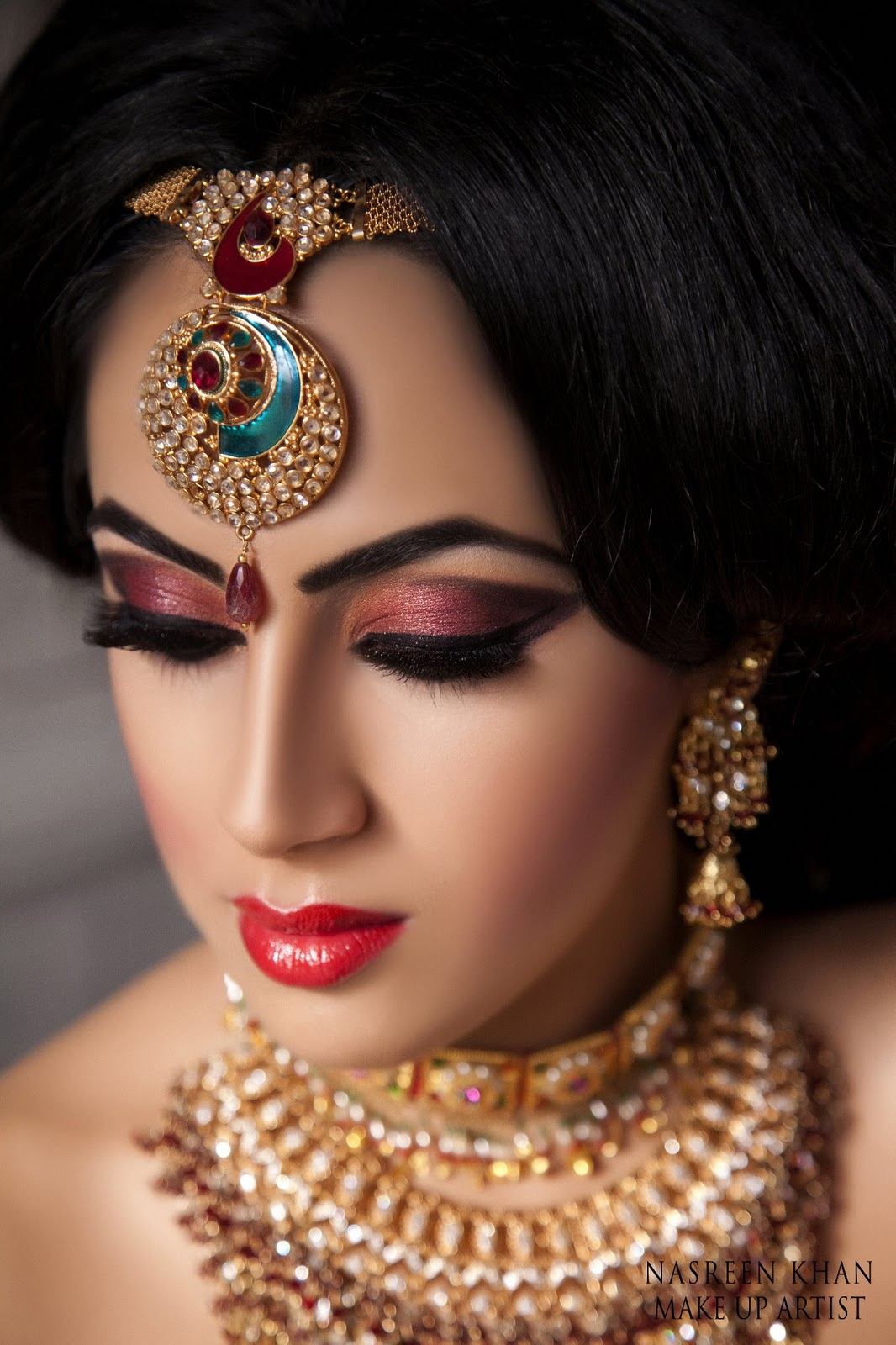 bridal makeup in karama